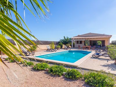 Photo for Can Melis - Modern villa with pool near Campanet