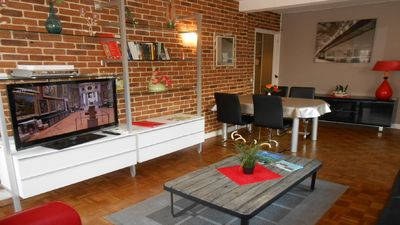 Photo for Beautiful apartment downtown Rouen