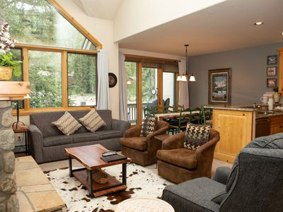 Photo for Lovely 3 Bedroom, 3 Story Townhome Close to the Slopes with a Private Hot Tub!