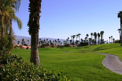 Golf Course View from Backyard