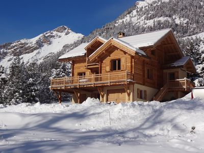 Photo for rent apartment in wooden chalet