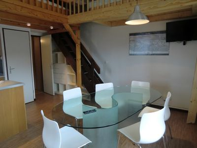 Photo for Large duplex apartment resort at the foot of the slopes and Mont Blanc