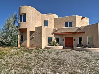 Photo for Rancho de Taos House w/ Balcony & Panoramic Views!