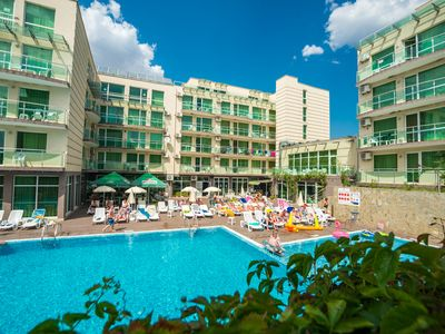 """Photo for Apart-hotel """"Clara (Apartment with Sea View  ) is located in Sarafovo,  Bulgaria"""