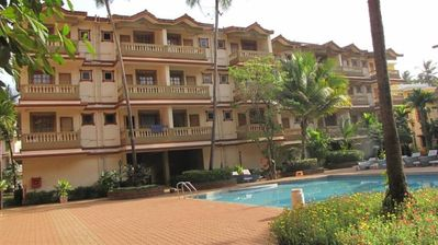 Photo for 1BR Apartment Vacation Rental in Candolim, Goa