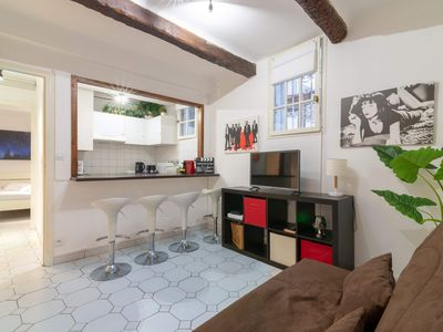 Photo for CHARMING APARTMENT CLOSE TO THE CROISETTE FOR 4 PEOPLE