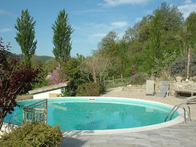 Photo for Apartment in beautiful Umbrian farmhouse 20 minutes from Perugia,Gubbio & Assisi