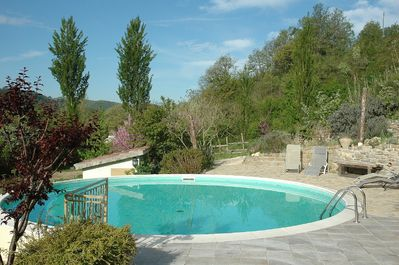 OUR LOVELY POOL SUMMERSED IN GLORIOUS COUNTRYSIDE