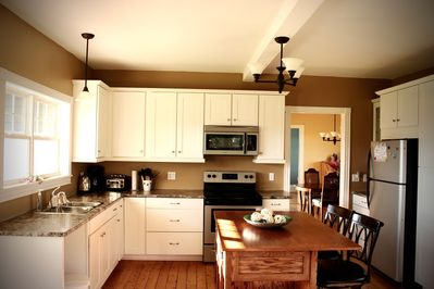 Make use of a full kitchen!