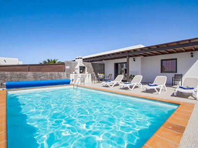 Photo for Semi-detached Villa with open plan lounge, pool and BBQ