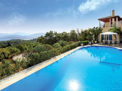 Photo for 4 bedroom Villa, sleeps 8 in Kremithas with Pool, Air Con and WiFi