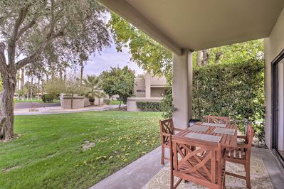 Soak in the relaxing Palm Springs area setting.