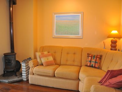 Photo for Meet Lawn walk! Coziness close to everything and in a quiet and bucolic street.