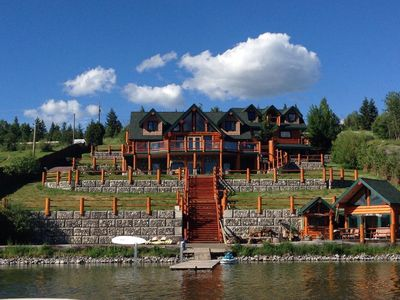 Photo for Spectacular Log Home On Lac La Hache