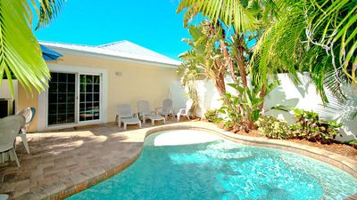 Photo for Beach Daze: Awesome Villa with Private Heated Pool and Just a Block to Beach!