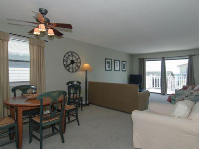 Photo for Great value for top floor condo with ocean views and pool access