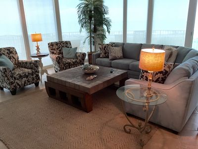 Awesome Panoramic Views from Spacious Living Room