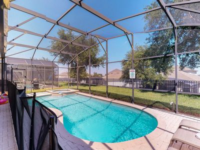 Photo for NEW LISTING! Home w/private pool, hot tub-great location, near Disney World!