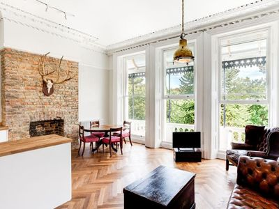 Photo for EXCEPTIONAL GRADE II LISTED APARTMENT OVERLOOKING PRIVATE GARDENS