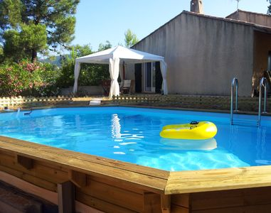 Photo for Villa 8 persons with pool 6 x 4 half-buried