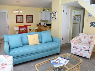 Photo for Sundial 3C NEW Living Room & Balcony Furniture ~ Gulf View 2BR w/LOFT/2BA ~ FREE WiFi ~ Gulfsands Re