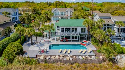 Photo for 9 Driftwood-Oceanfront  w/  Large 15 x 34 Pool & Fido Friendly