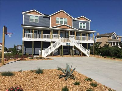 Photo for #411: OCEANSIDE in Corolla w/HtdPool, HotTub, Elev, RecRm & Thtr