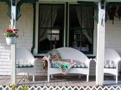 Photo for AUTHENTIC VICTORIAN FARMHOUSE sleeps 10. step back in time,vintage rural area