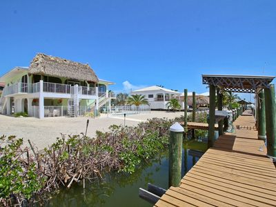 Photo for Oceanside Canal-Front Retreat w/ Pool, Water Views & Private 75' Dock