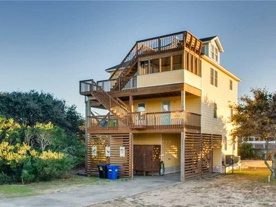 Photo for Enjoy Hatteras Lighthouse Views! Oceanview-Pool, Hot Tub, Game Rm, Dog-Friendly