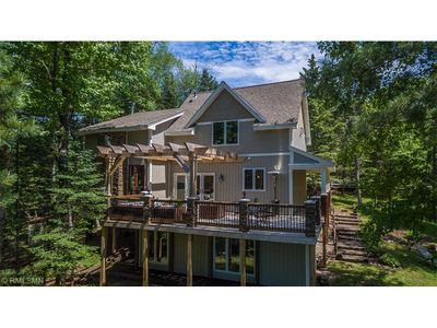 Photo for Gorgeous, Renovated Lakefront Lodge on the Whitefish Chain of Lakes