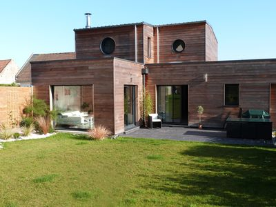 Photo for Sublime contemporary villa to the sea 150 m2 large garden surrounded by nature