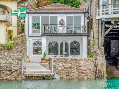 Photo for Two stunning waterfront apartments in Dartmouth, water access, wifi, mooring