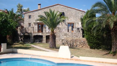 Photo for Stunning Farmhouse with Private Pool in Mediterranean setting