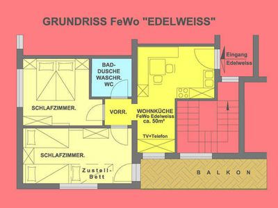 Photo for FeWo - EDELWEISS - Apartments Lechner