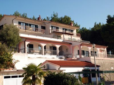 Photo for Holiday apartment with 60 sqm terrace and sea view