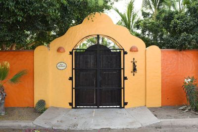 Front Entrance to the Villa