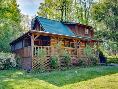 Photo for 2 Bedroom Cabin Within Walking Distance to Downtown Gatlinburg and Trolley