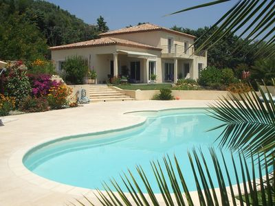 Photo for Luxurious newly built 230 m2 villa with heated pool in Cannes