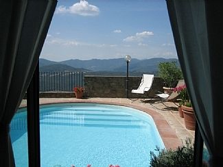 Photo for Hilltop Stone House on 3 floors with Private Pool and Glorious Views