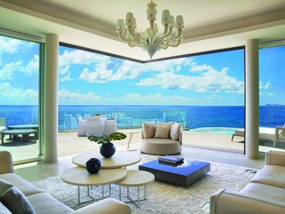 Photo for The Cliff Penthouse Suite - Stunning Ocean Views At Oil Nut Bay - Resort Access