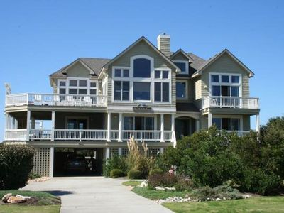 Photo for #PI148: OCEANVIEW Home in Corolla w/HeatedPool & HotTub