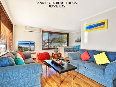 Photo for SANDY TOES JERVIS BAY - PET FRIENDLY -  2 MINS WALK TO BEACH