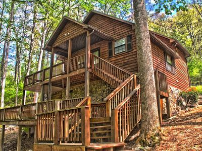 Photo for Emma's Brook: 2 BR / 2 BA cabin in Whittier, Sleeps 4