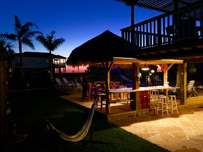 Photo for Large Bay Home w/ Big Swimming Pool, & Palapa bar Surrounded by water sleeps 14