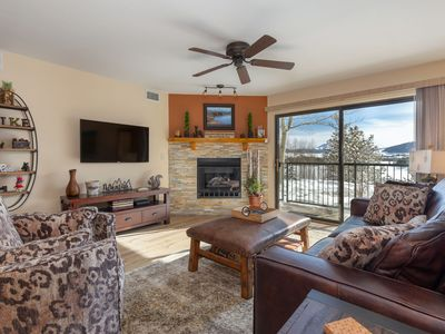 Photo for Lake and Mountain Views From Every Window, Walkout Patio