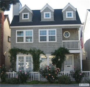 Cape Cod designed home on Little Balboa Island, 3 doors from South Bay Front