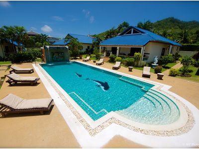 Photo for Phuket: LUXURY VILLA SWIMMING POOL COM. - 3 CH - 6/8 people - Near the SEA ..