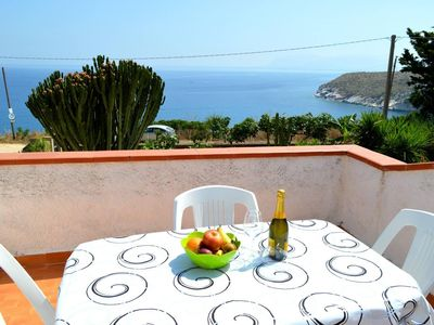 Photo for Spacious Villa Calabianca 2 apartment in Scopello with WiFi, integrated air conditioning, private p…