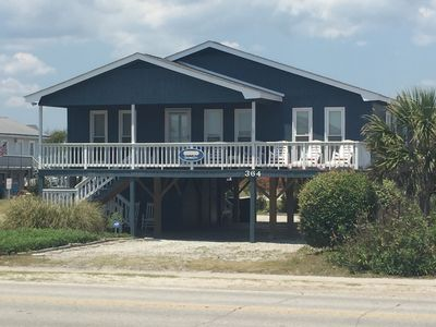 Photo for FUN BEACH GETAWAY!  Beach Access Across the Street / Fully Equipped Kitchen